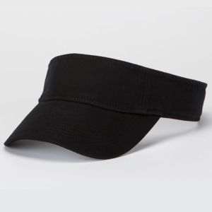 Solid Low-Profile Twill Visor Thumbnail